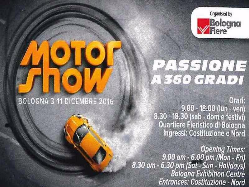 Esametal al Motor Show 2016