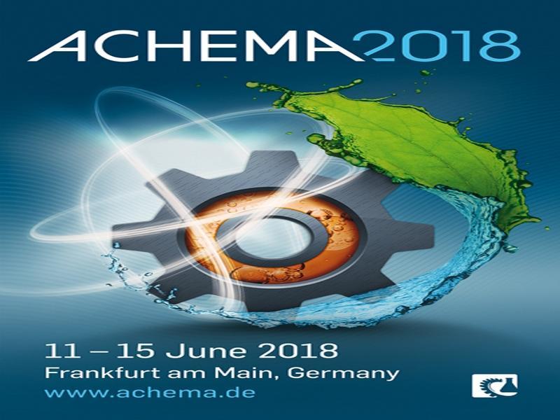 Esametal ad ACHEMA 2018